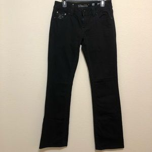 Miss Me black boot cut jeans